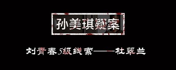 孙美琪疑案刘青春杜翠兰位置介绍