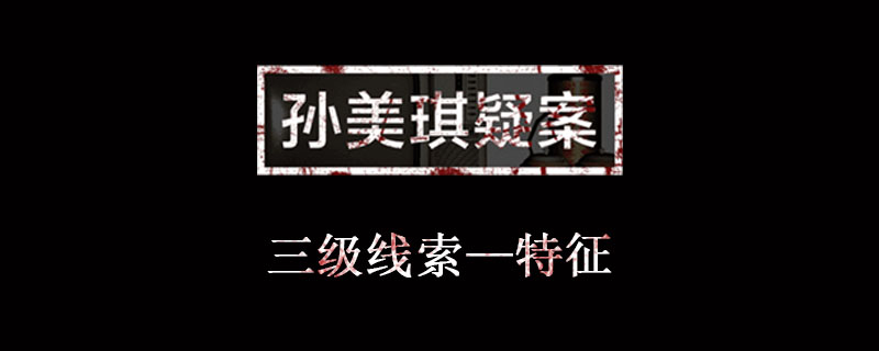 孙美琪疑案金凤凰线索特征位置介绍