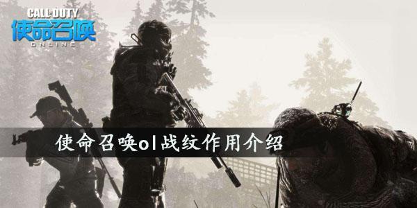 使命召唤ol战纹作用介绍