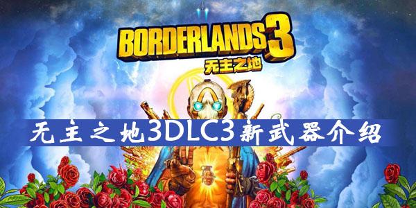 无主之地3DLC3新武器介绍