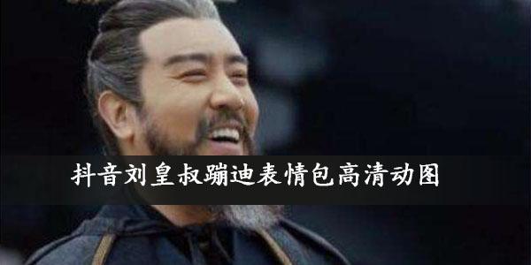 抖音刘皇叔蹦迪表情包高清动图大全