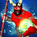 不可思议的红色超级英雄战士
